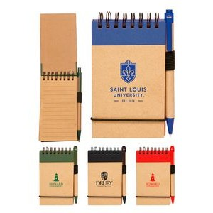 Eco Notebook Jotter w/Pen